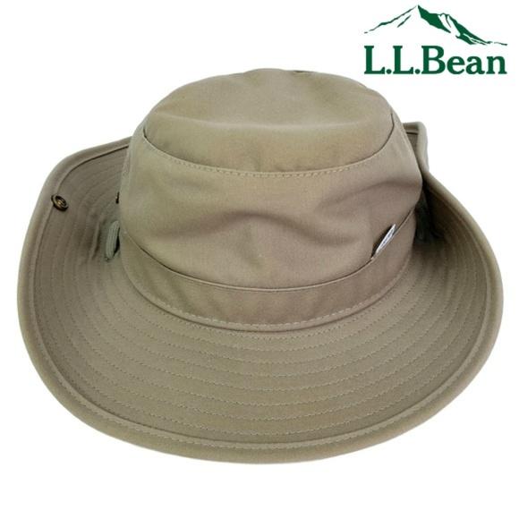 2a0c4f49b L.L. Bean Gore-Tex Boonie Bucket Hat Khaki Size M